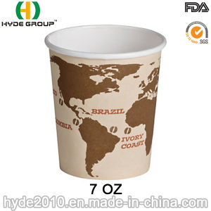 Disposable Sun Paper Cup, with Printing Design (7oz-12) pictures & photos