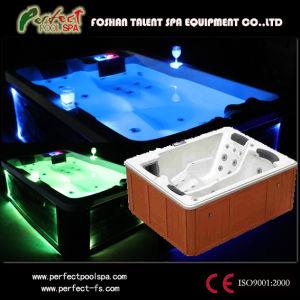 3 Person Massage Hot Tub/Bathtub/Hot SPA with Mult-Color LED Light