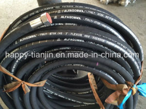 4sh Four Wire High Pressure Rubber Hydraulic Oil Hose pictures & photos