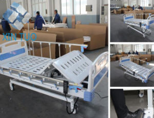 Low Height Two Function Hospital Electric Medical Bed pictures & photos