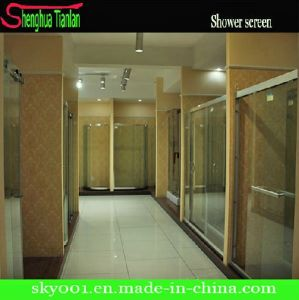Good Price Simple Painted Tempered Glass Show Room From Hangzhou (TL-8892) pictures & photos
