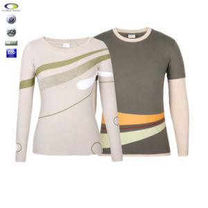 Custom Spring and Autumn Long Sleeve Couple T Shirt