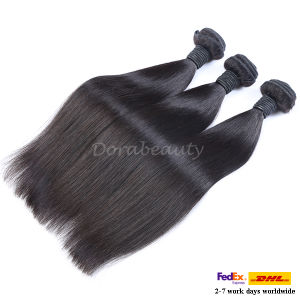 Natural Color Peruvian Virgin Human Hair Straight Hair Extensions pictures & photos