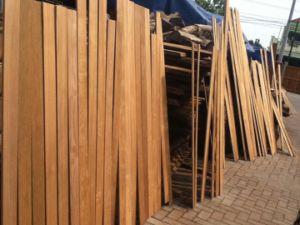 Low Price Burma Teak Outdoor Timber Wood Decking