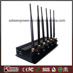 Adjustable High Power Cellphone Jammer GPS WiFi Signal Jammer pictures & photos
