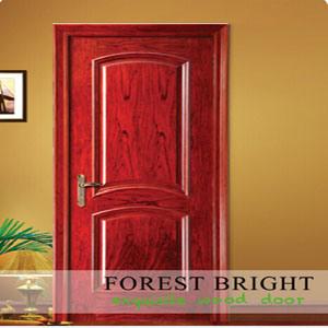 Classic Home Design Door, Raised Molding Veneered Doors pictures & photos