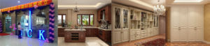 Russia′s Most Popular Classic Antique White Wood Kitchen Cabinet pictures & photos