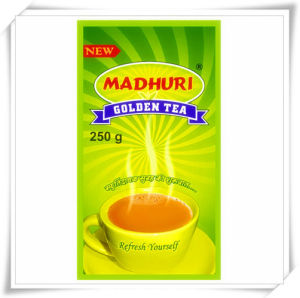 Hot Selling 250g Stand up Empty Tea Bags pictures & photos