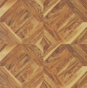 12.3mm HDF E1 Wood Composite Art Parquet Laminate Floor pictures & photos