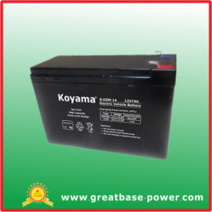 12V 7ah Electric Battery for Vehicle pictures & photos