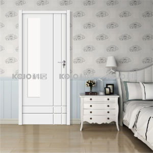 European Style WPC Waterproof Decorative Interior Doors (YMB-003) pictures & photos