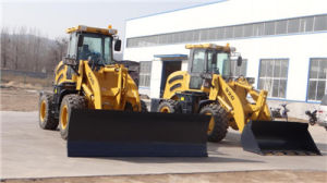 2.0ton Front Wheel Loader with Snow Blade pictures & photos