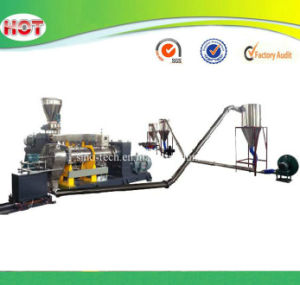 Hot Die Face Cutting Type WPC Compounding Pellets Granules Making Machines pictures & photos