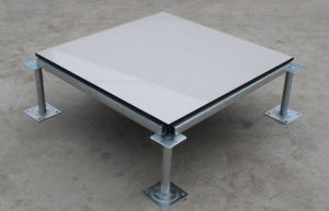 Made of Steel, Trimless and Cement Filled in, Raised Floor (JTG-H35)