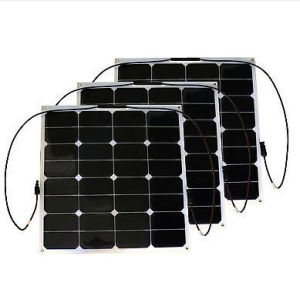 EXW Price 50W Semi Flexible Solar Panel for Marine, Roof Solar System pictures & photos