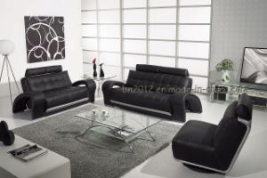 Living Room Genuine Leather Sofa (SBL-201) pictures & photos