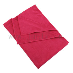 Red Microfiber Cleaning Cloth (JL-156)