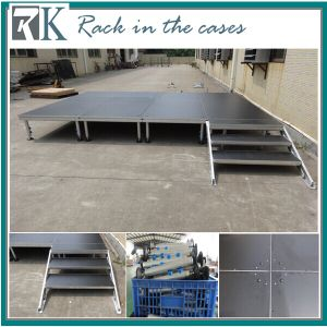 Rk Aluminum Concert Stage with Brace and Adjustable Legs pictures & photos