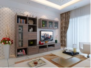 Modern Living Room TV Stand Stainless Steel Glass Coffee Table (ZK-001) pictures & photos