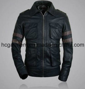 Men′s Safety Waterproof PU Leather Jacket, Motorcycle Jackets pictures & photos