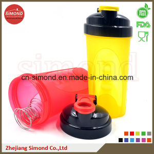 500ml New Protein Blender Shaker Bottle with Mixer (SB5006) pictures & photos