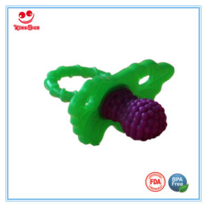 Double Color Silicone Infant Pacifier for Newborn pictures & photos