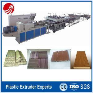 PVC Wood Plastic WPC Window Profile Extruder Production Extrusion Machine pictures & photos