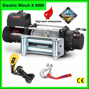 Zhme 9500lbs 4X4 Electric Winches X 9500 pictures & photos