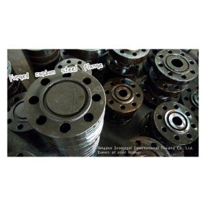 Forged Carbon Steel Welding Neck Flange ANSI Standard pictures & photos