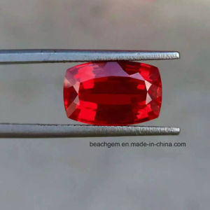 Lab Created Ruby Cushion Loose Gemstones pictures & photos