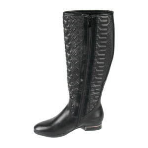 Hot Sale Women Winter Sexy Long Boots, Flat Heel Boots pictures & photos