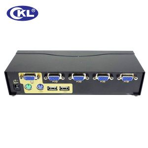 High Quality 4 Port USB&PS/2 Combo Kvm Switch (WITH CABLES)