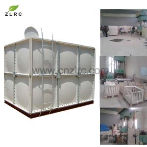 Fiberglass Plastic Water Tank GRP Water Treatment Tank pictures & photos