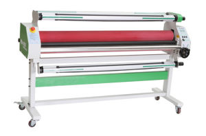 Mefu Good Price Pneumatic A3 Paper Laminator for Cold Paper pictures & photos