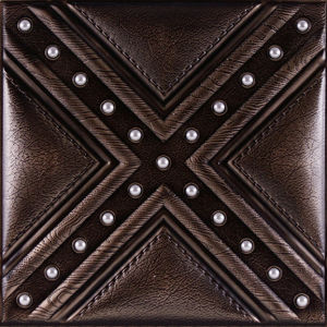3D Leather Carving Wall Panel for Interior Decoration pictures & photos