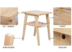 Solid Wooden Table Coffee Table (M-X2176) pictures & photos
