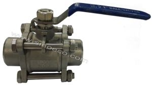 Stainless Steel 3 PC Welded Ball Valve pictures & photos