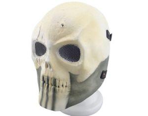 Fiberglass Army of Two Skull Mask