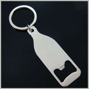 Promotion Metal Bottle Shape Beer Opener with Company Logo (F5056) pictures & photos