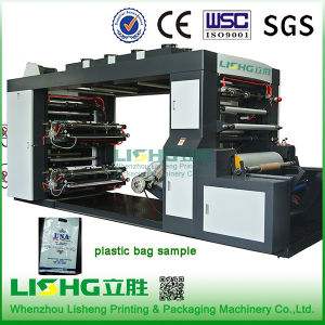 4 Colour Stack Type PE Bag Flexo Printing Machine pictures & photos