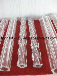 Clear Profile Glass Tube pictures & photos