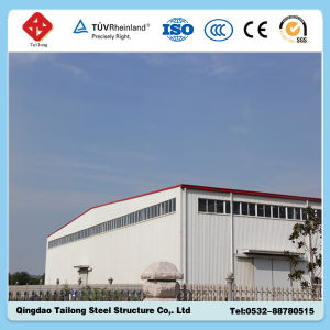 Fast Assembling Prefabricated Light Steel Structure Workshop/Warehouse pictures & photos