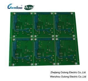 2 Layer Hal Printed Circuit Board with Peelable pictures & photos