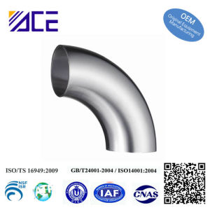 Sanitary Pipe (Tube) Fittings Series Welded Elbow pictures & photos