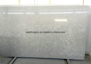 China Wholesale Artificial Engineered Quartz Stone Slab pictures & photos