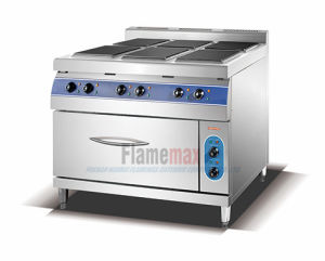 6-Plate Electric Cooker with Electric Oven (square) (HSQ-96E) pictures & photos