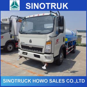 HOWO 5m3 10cbm 5000L Water Tank Truck for Sale pictures & photos