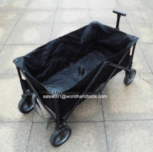 Heavy Duty Black Poly Folding Cart pictures & photos