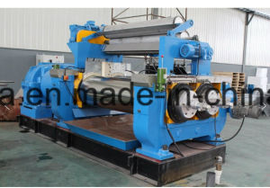 Hard Surface Gear Reducer Two Roll Rubber Open Mixing Mill pictures & photos