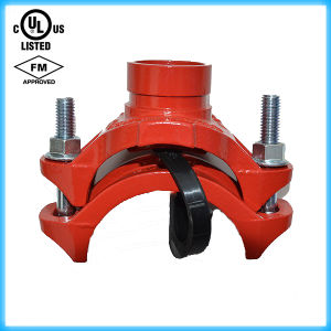 """UL Listed, FM Approved, Mechanical Tee 3""""X76.1mm Grooved pictures & photos"""